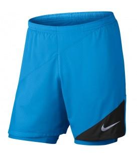 Pantalón Nike Flex 2IN1 834222-436 para hombre en color azul, pantalones de running Nike en chemasport.es al mejor precio