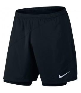 Pantalón Nike Flex 2IN1 834222-010 para hombre en color negro, entra en chemasport.es y descubre otros colores o modelos de pantalónes de running Nike