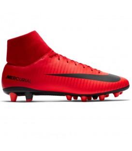 Comprar botas de fútbol Nike Mercurial Victory VI 903608-616 para hombre de color rojo. Otros modelos de Nike al mejor precio en chemasport.es