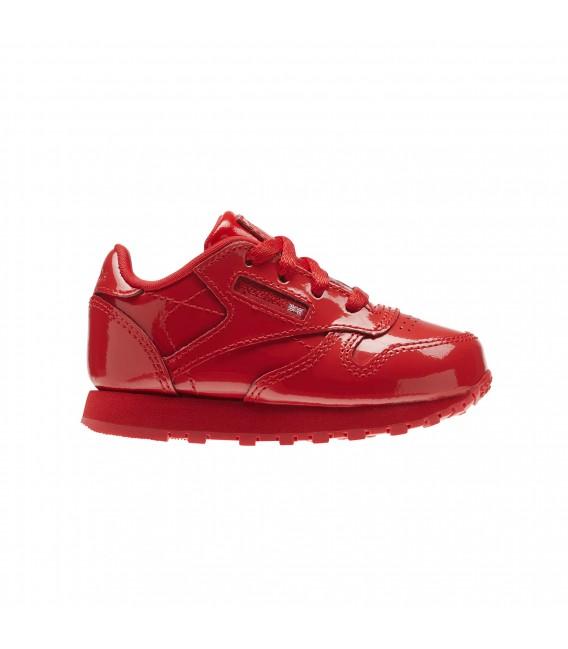 Reebok Classic Leather Patent I Rojo kh4VX