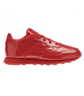 Zapatillas Reebok Classic Leather CN2070 para niños en color rojo, encuentra las últimas novedades en Chema Sneakers y Chemasport.es