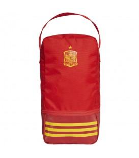 Zapatillero adidas Fef Shoebag CF4961 en color rojo, zapatillero de la selección española, mundial 2018, en chemasport.es
