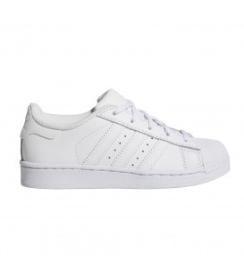 Zapatillas adidas Superstar C BA8380 para niño en color blanco, más colores de adidas superstar en chemasport.es