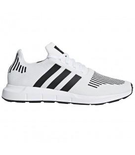 Zapatillas adidas Swift Run CQ2116 para hombre en color blanco, disponible también en color negro en chemasport.es