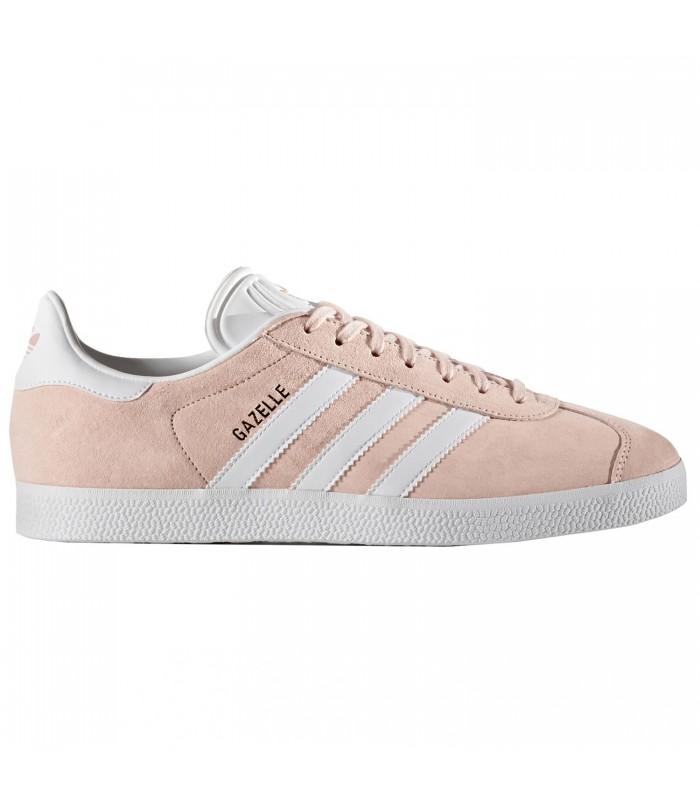 adidas gazelle mujer rosa y blanco