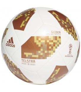Balón adidas World Cup Glide en color blanco CE8099, entra en chemasport.es donde encontrarás más balones del mundial de fútbol de Rusia 2018