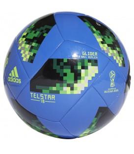 Balón adidas World Cup Glide CE8100 en color azul, balón del mundial de Rusia 2018 en chemasport.es