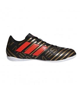 Zapatillas de fútbol sala adidas Nemeziz Messi Tango 17.4 IN CP9067 en negro y dorado, en chemasport.es encontrarás más modelos de zapatillas adidas