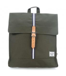 Mochila unisex Herschel City Bagpack de color verde. Otros modelos de Herschel al mejor precio en chemasport.es