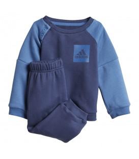 Chándal adidas Sport Fleece Jogger CF7383 para niños en color azul, encuentra más chándales para niños en chemasport.es al mejor precio