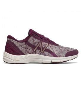 Compra ahora estas preciosas Zapatillas New Balance WX711 Gym Training Fitness para mujer de color granate con estampados. Ref: WX711HP3