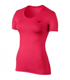CAMISETA NIKE WOMEN PRO TOP MUJER ROSA FITNESS 725745-618