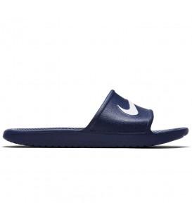Chanclas para mujer y hombre Nike Kawa 832528-400 de color azul marino para natación. Otros modelos de natación en chemasport.es