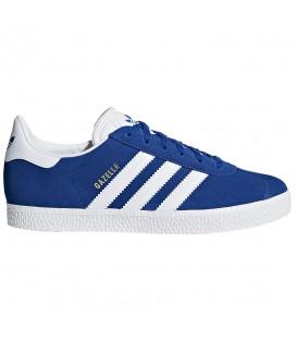 Comprar zapatillas adidas Gazelle Junior CQ2875 de color azul para mujer y niños al mejor precio. Otros modelos de adidas rebajados en chemasport.es