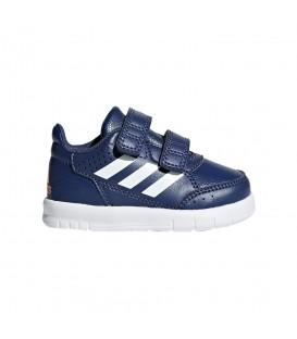 Zapatillas adidas Altasport CF I CP9947 de color azul marino confeccionadas en piel de primera calidad. Otros modelos de adidas en chemasport.es