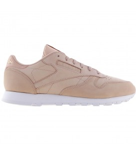 ZAPATILLAS REEBOK CLASSIC LEATHER NUDE NOBUCK