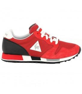 Zapatillas Le Coq Sportif Omega Nylon 1810188 para hombre en color rojo, más zapatillas Le Coq Sportif al mejor precio en Chema Sneakers y chemasport.es