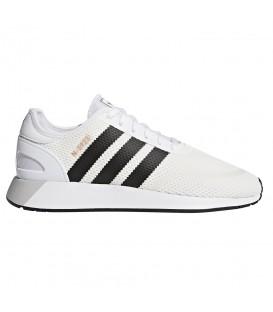 Zapatillas para hombre adidas N-5923 de color blanco. Una deportiva transpirable para hombre al mejor precio en chemasport.es