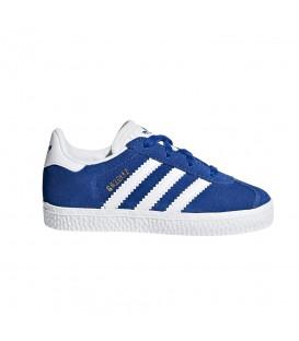 Zapatillas para niños adidas Gazelle I CQ2924 de color azul. Otros modelos de deportivas Gazelle para niños en chemasport.es