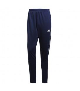 Pantalón de entrenamiento de fútbol Adidas CORE Training pant Youth CV3994 de color azul marino para niños al mejor precio en chemasport.es