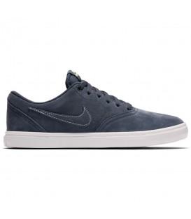 Zapatillas unisex Nike SB Check Solarsoft 843895-402 de color azul al mejor precio en tu tienda de deportes chemasport.es