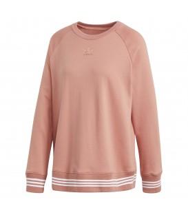Sudadera para mujer adidas sweatshirt CD6903 de color rosa. Otros modelos de adidas para mujer al mejor precio en chemasport.es