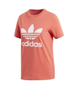 Camiseta adidas para mujer CV9890 en color rojo, en chemasport.es encontrarás más camisetas adidas adicolor, cómprala ya y recíbela en 24/48 horas!