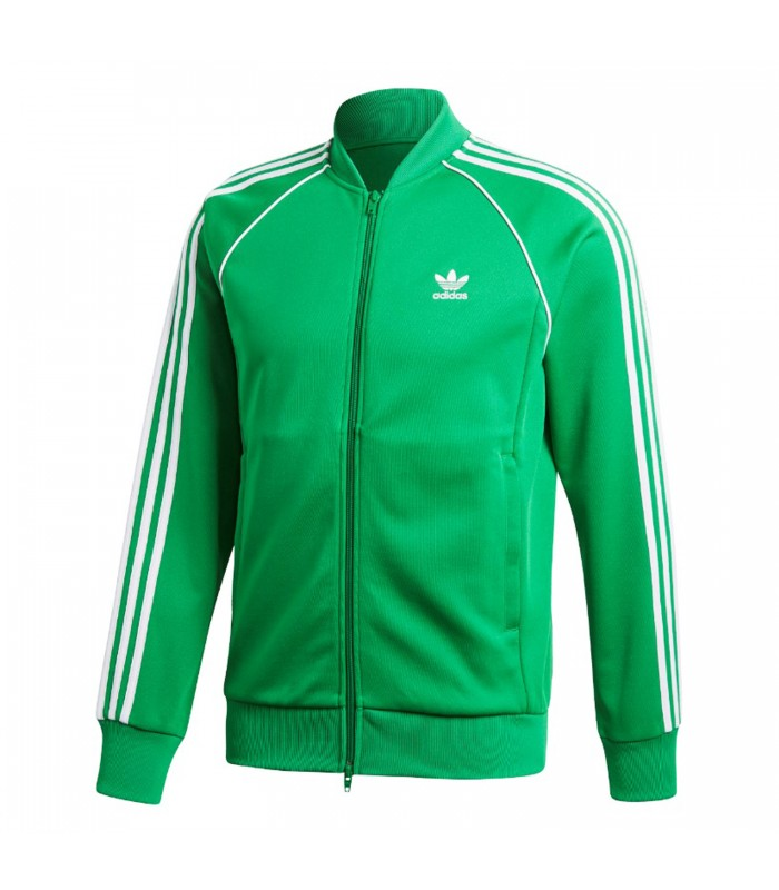 adidas verde chaqueta
