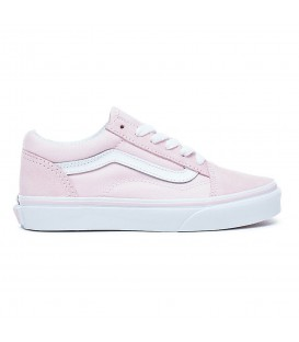 Zapatillas Vans Old Skool VA38HBQ7K en color rosa, las míticas zapatillas Old Skool ahora en color rosa, perfectas para primavera, disponibles en chemasport.es