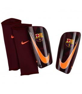 Espinilleras Nike FC Barcelona Mercurial Lite SP2112-608, espinilleras con una amortiguación optima y gran difusión de los impactos, encuentralas en chemasport