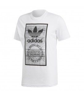 CAMISETA adidas TRACTION IN ACTION TONGUE LABEL