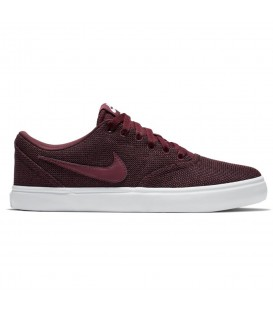 ZAPATILLAS NIKE SB CHECK SOLARSOFT 921464-600 GRANATE