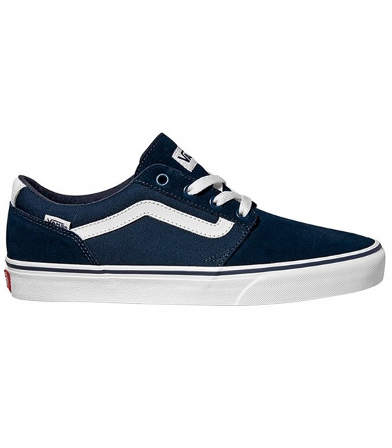 zapatillas vans chapman stripe para hombre en color azul. Black Bedroom Furniture Sets. Home Design Ideas
