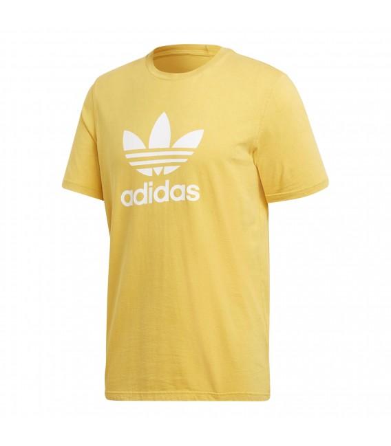 camiseta adidas hombre amarilla