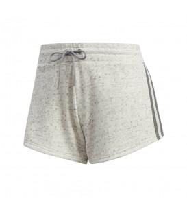 Pantalón corto adidas 2S2 Short CW229 para mujer en color gris, entra en chemasport.es y descubre todas las novedades de adidas.