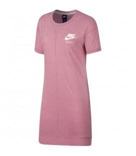 Vestido para mujer Nike Sportswear de color rosa. Disponible en más colores. Cambios de talla gratuitos. Ref: 883737-678