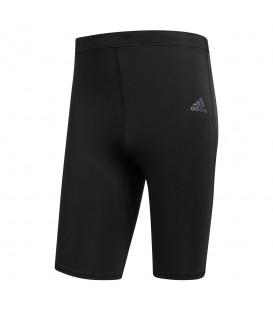 Mallas cortas adidas Response CF6254 para hombre en color negro, mallas de running para hombre con tecnología Climacool, descúbrelas en chemasport.es