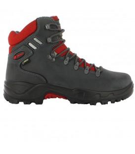 Botas Chiruca Somiedo 4409215 para hombre en color gris oscuro, botas de trekking en chemasport.es