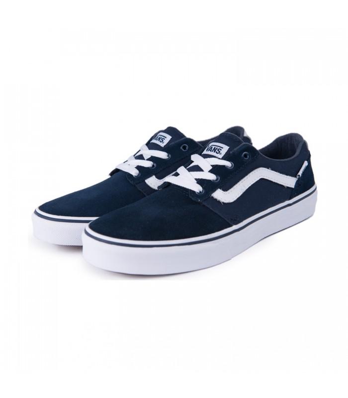 zapatillas vans azules