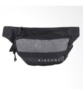 Riñonera Rip Curl Midnight BUTCN4-0090 en color negro, riñonera negra con diferentes bolsillos, encuéntrala en chemasport.es
