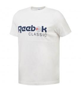 Camiseta Reebok Classic Icon CE1844 para hombre en color blanco, camiseta clásica Reebok confeccionadas en algodón de gran calidad, encuéntrala en chemasport.es