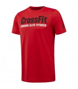 Camiseta Reebok CrossFit SpeedWick F.E.F. para amantes del crosfit. Perfecta para darlo todo en el WOD gracias al tejido Speedwick que repele el sudor. Ref: CF4549
