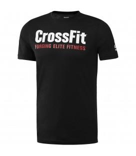 ¿Amante del crossfit? Esta es tu camiseta. Camiseta CrossFit SpeedWick F.E.F. de Reebok. Perfecta para tus WOD. Llévala al box y céntrate solo en las reps.