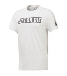 CAMISETA REEBOK LIFT OR DIE