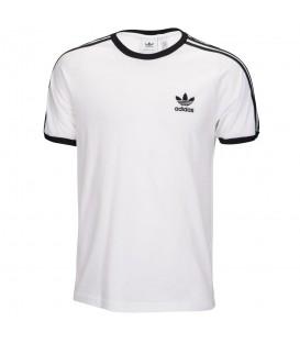 Compra Camiseta adidas 3 Stripes para hombre en color blanco con bandas en color negro. Descubre más colores de este clásico en chemasport.es Ref: CW1203