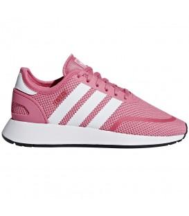 Zapatillas Junior Adidas N5926 para niños de color rosa al mejor precio en chemasport.es