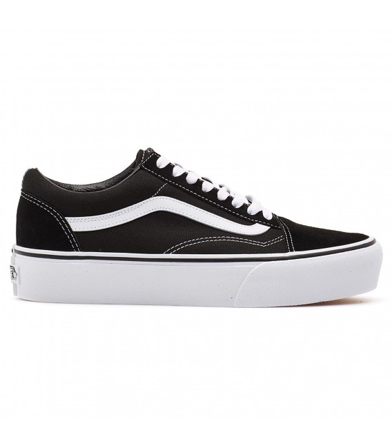 Vans - Zapatillas de skateboarding para mujer, color negro, talla 45.5