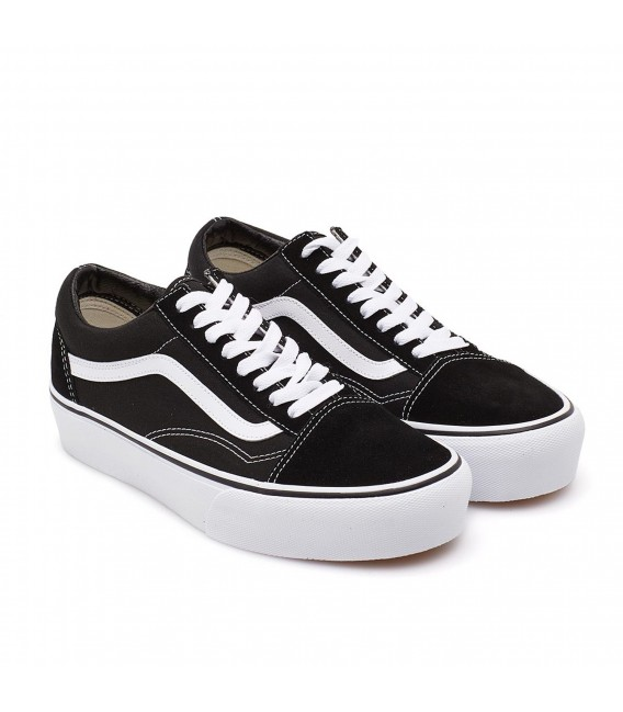 zapatos vans old skool platform