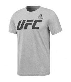 Camiseta para hombre Reebok UFC Graphic logo de color gris. La UFC es la liga de artes marciales mixtas más famosa del mundo. Consigue aquí la camiseta oficial.