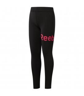Mallas para niña Reebok Girls Essentials Big Logo Legging de color negro. Ref: CF4255. Envíos nacionales e internacionales. Chemasport. Distribuidor autorizado